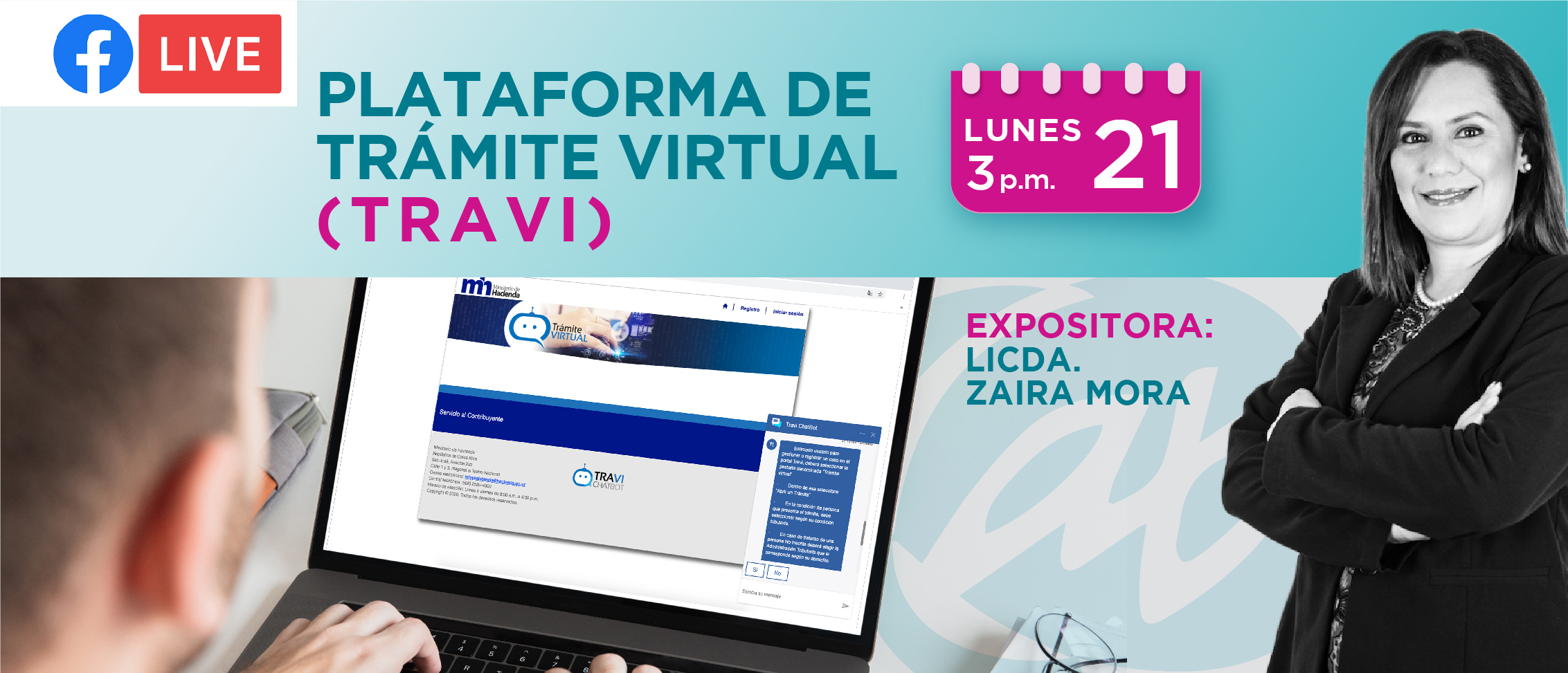 FB LIVE: PLATAFORMA DE TRÁMITE VIRTUAL (TRAVI)