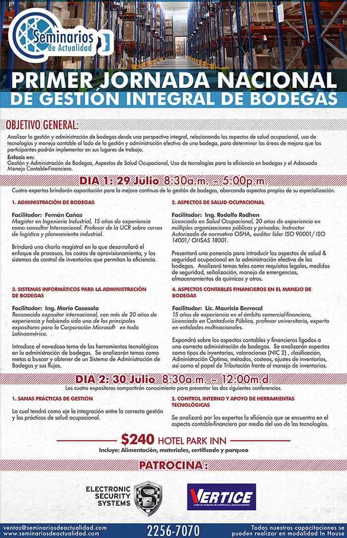 Gestion Integral Bodegas